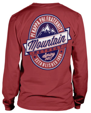 Pi Kappa Phi Mountain Retreat T-shirt