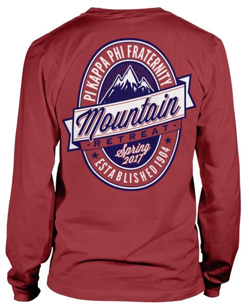 Pi Kappa Phi Mountain Retreat T-shirt