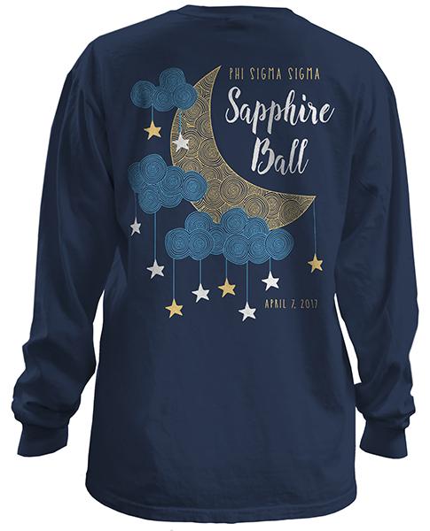 Sapphire Ball T-shirt