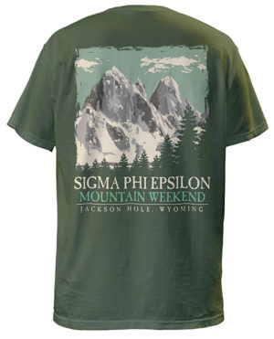 Sig Ep Mountain Retreat T-shirt