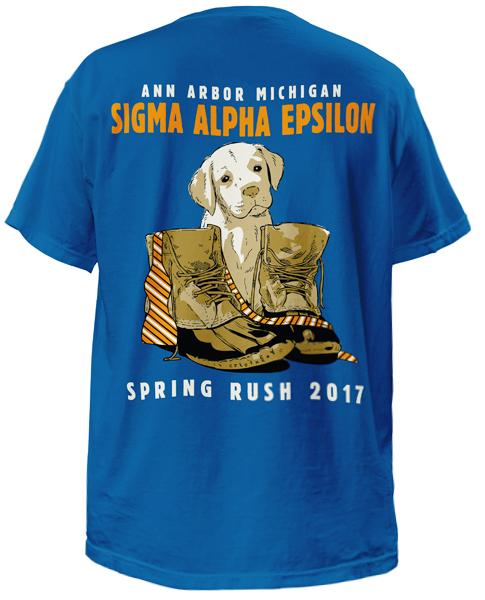 Sigma Alpha Epsilon Rush T-shirt