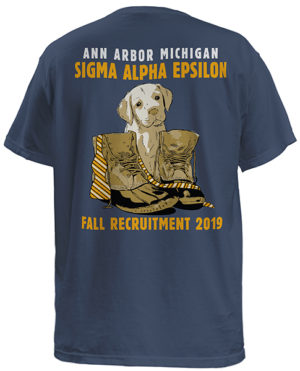 Sigma Alpha Epsilon Puppy Rush Shirt