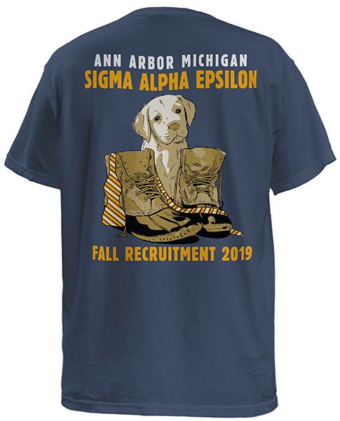 Sigma Alpha Epsilon Puppy Rush Shirt