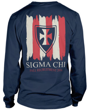 Sigma Chi Rush Cross T-shirt