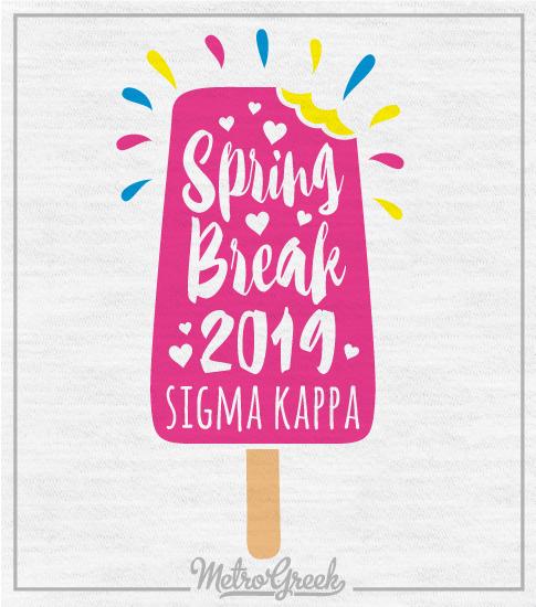 SigmaKappa Spring Break T-shirt