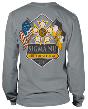 Sigma Nu Fraternity Formal T-shirt