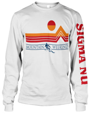Sigma Nu Mountain Weekend T-shirt