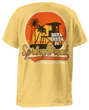 Beta Theta Pi Spring Break T-shirt