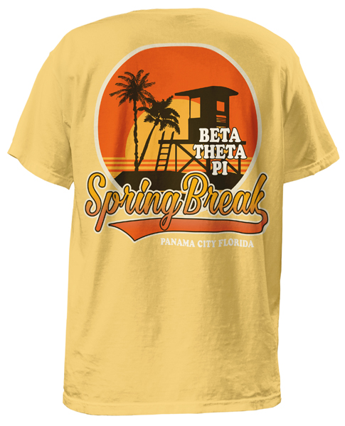 Beta Theta Pi Spring Break T-shirt