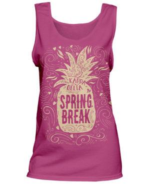 Kappa Delta Spring Break Tanktop