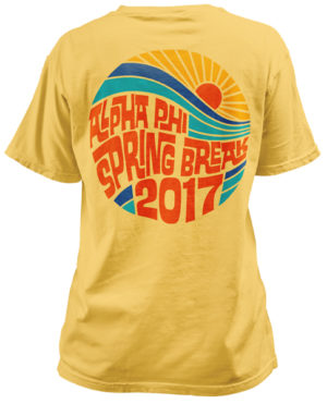 Alpha Phi Spring Break T-shirt
