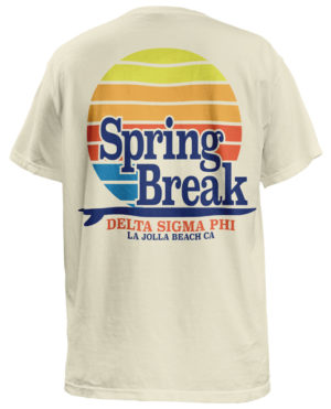 Spring Break T-shirt Delta Sigma Phi