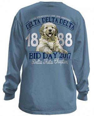 Tri Delta Bid Day tshirt