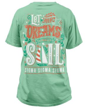 Tri-Sigma Sailboat T-shirt