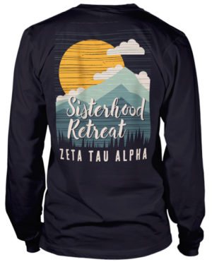 Zeta Tau Alpha Sisterhood Retreat T-shirt