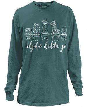 Alpha Delta Pi Shirt Cactus