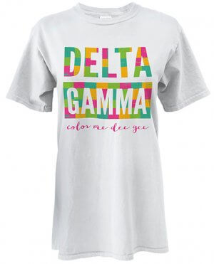 Delta Gamma T-shirt Color Me