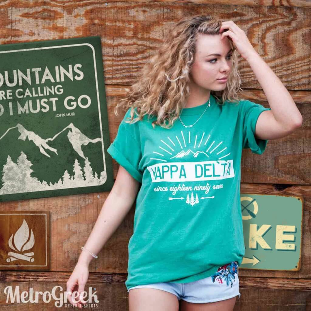 Kappa Delta Mountain Shirt