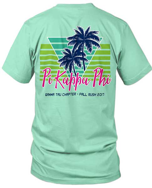 2684 pi kappa rush shirt eighties greekshirts for Fraternity rush shirt ideas