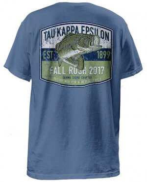 Tau Kappa Epsilon Rush Shirt - Bass