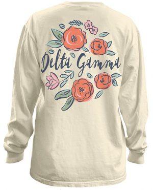 Delta Gamma Floral T-Shirt