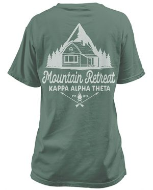 Kappa Alpha Theta Mountain T-shirt
