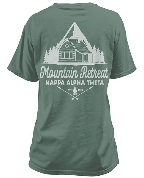 Kappa Alpha Theta Mountain T-shirt