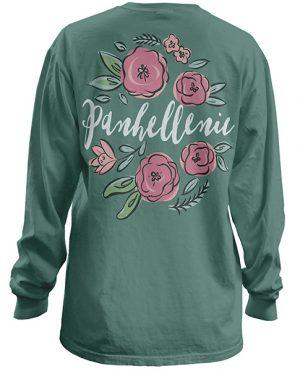 Panhellenic Floral Shirt
