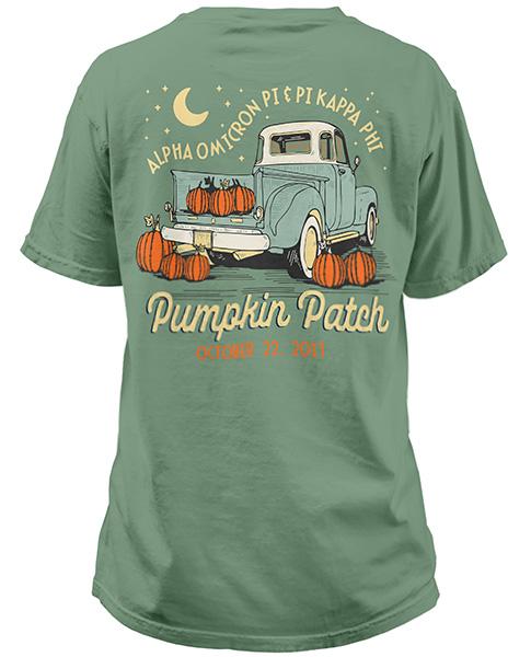 Alpha Omicron Pi Pumpkin Shirt