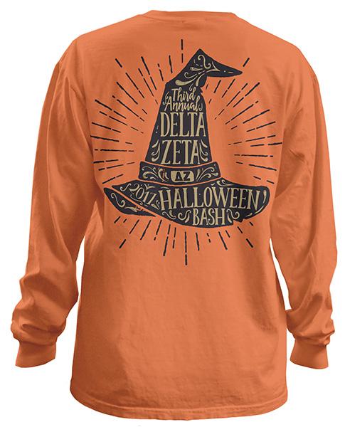 Delta Zeta Halloween Shirt