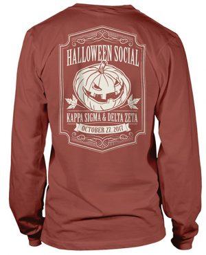 Delta Zeta Pumpkin Shirt