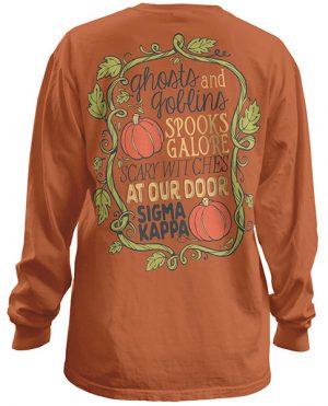 Sigma Kappa Halloween Shirt