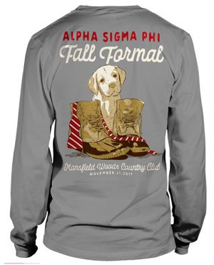 Alpha Sigma Phi Formal Shirt