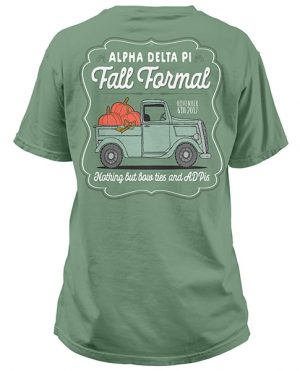 Alpha Xi Delta Formal T-shirt