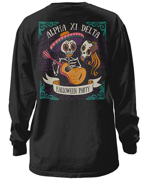 Alpha Xi Delta Halloween Shirt
