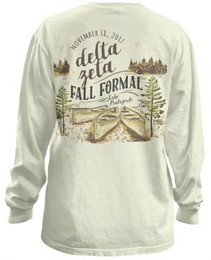 Delta Zeta Lake Formal T-shirts