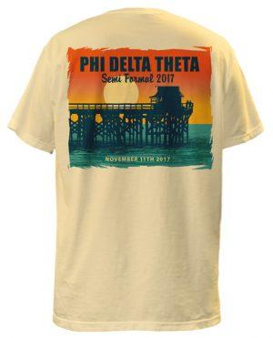 Phi Delta Theta Beach Formal T-shirt