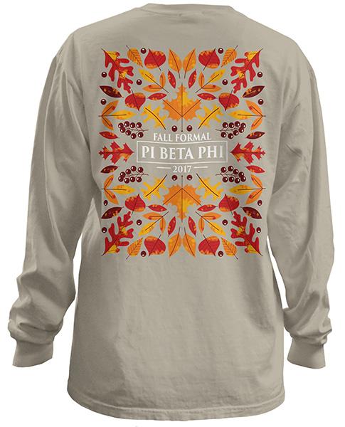 6079 Pi Beta Phi Fall Formal T-shirt
