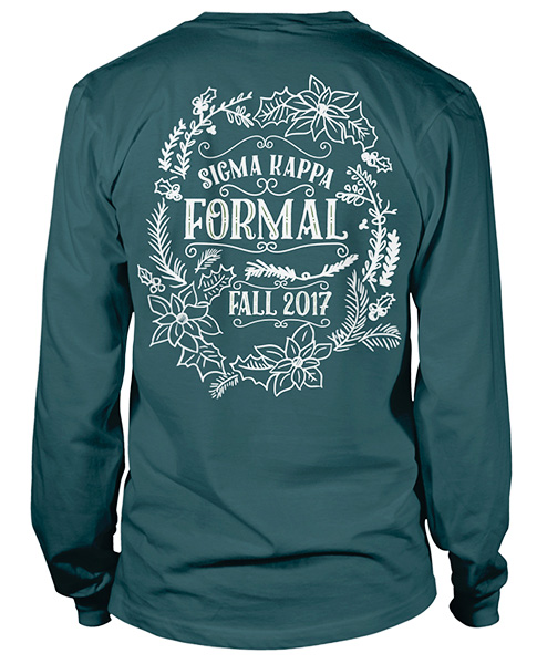 Sigma Kappa Fall Formal Shirt