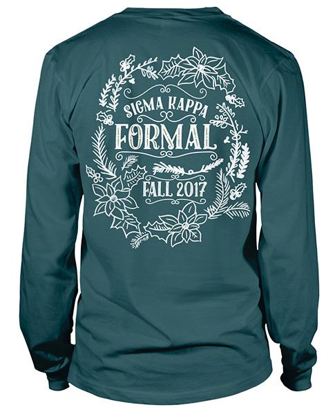 6078 Sigma Kappa Fall Formal Shirt