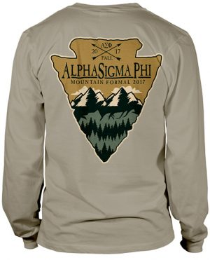 Alpha Sigma Phi Formal T-shirt