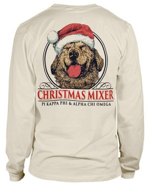 Labrador Christmas Party T-shirt