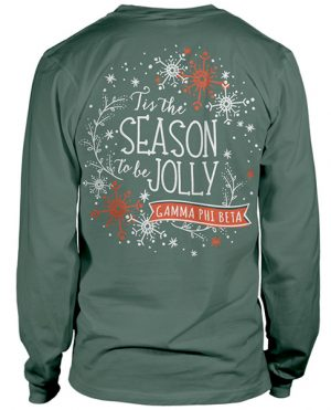 Gamma Phi Beta Christmas T-shirt
