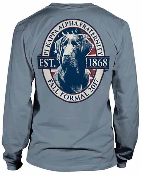 6086 pi kappa alpha formal t shirt greekshirts for Sorority t shirts designs