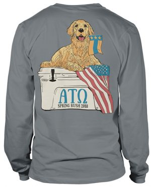 Alpha Tau Omega Rush Shirt Lab
