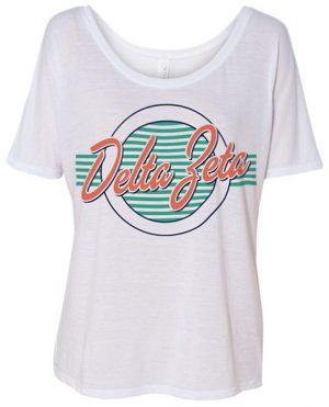 Delta Zeta Retro T-shirt