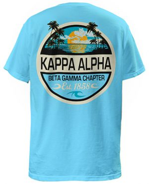 Kappa Alpha Palm Sunset T-shirt