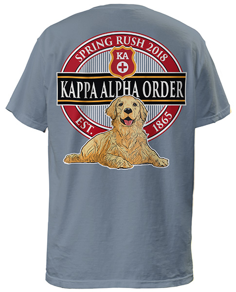 2697 kappa alpha rush shirt lab greekshirts for Fraternity rush shirt ideas