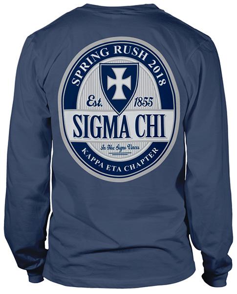 Sigma Chi Rush Shirt