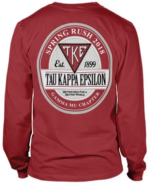 Teke Rush Shirt Label Logo
